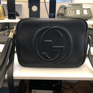 Soho Small Leather Disco Bag - Gucci (Black)